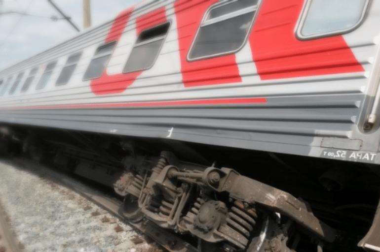 сошедший поезд с рельс