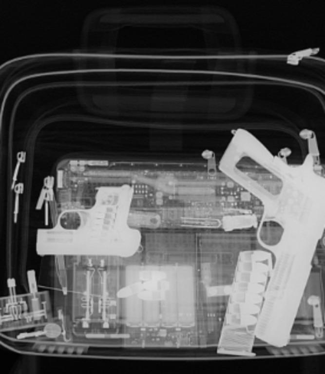 сканирование багажа для аэропорта 3
