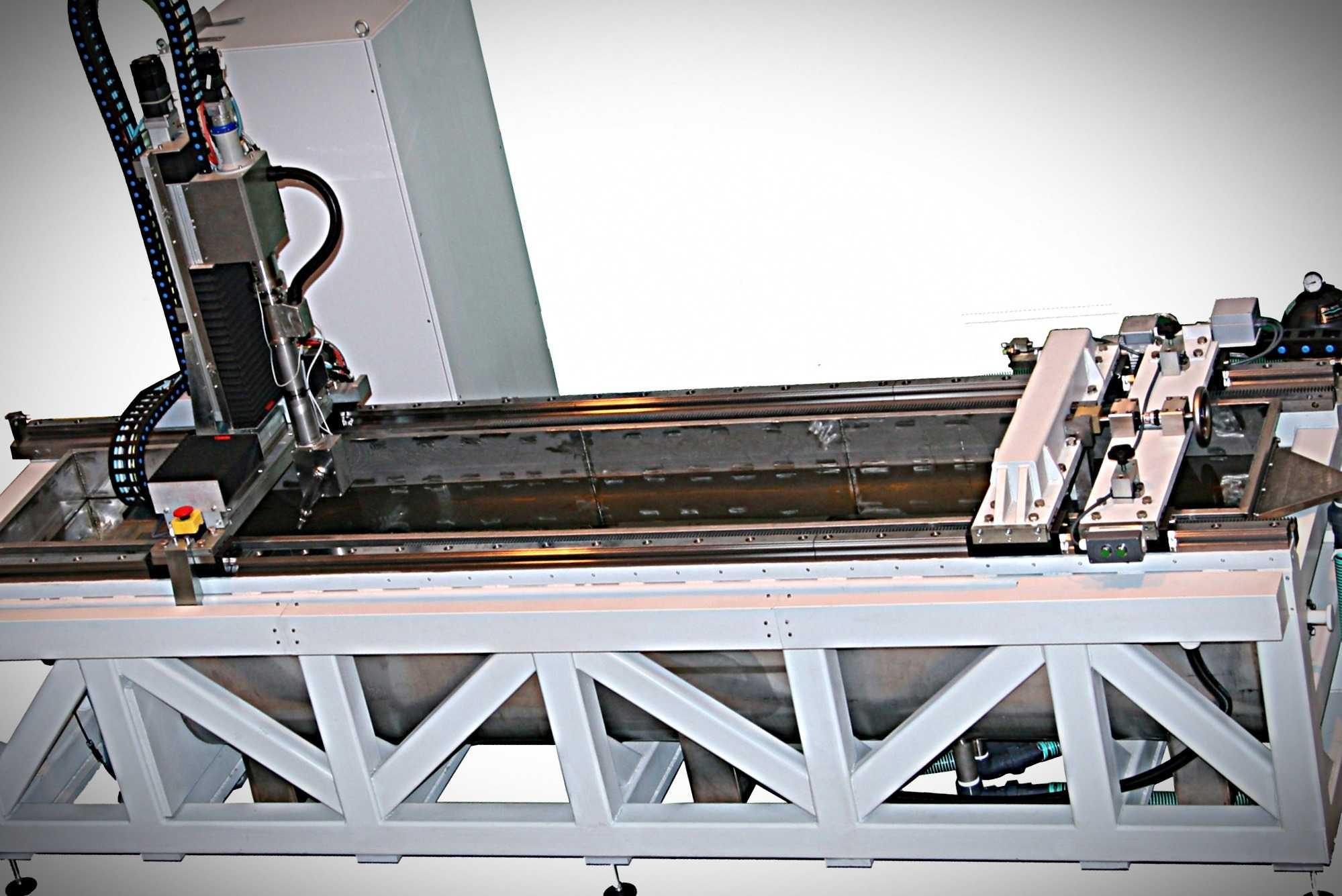 Автоматизированная система иммерсионного ультразвукового контроля заготовок валов
