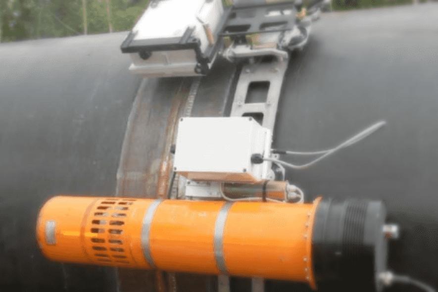 Радиографический контроль сварного шва