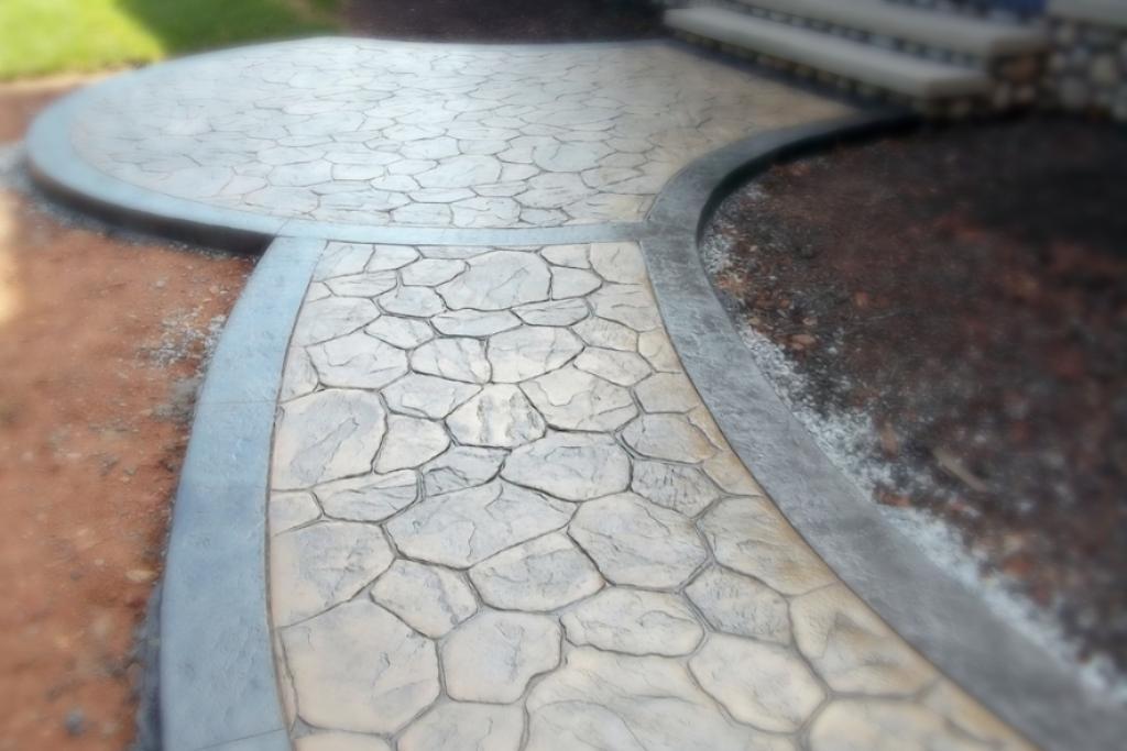штамповочный бетон