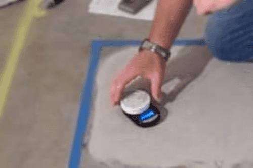Определение влажности бетона шаг 2