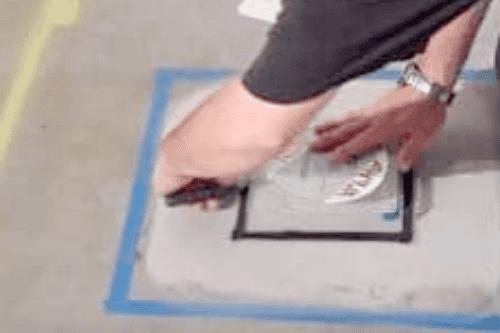 Определение влажности бетона шаг 6