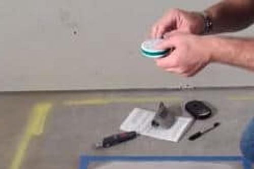 Определение влажности бетона шаг 7