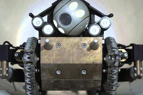 робот для инспекции трубопровода
