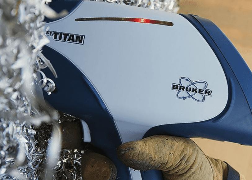 РФА спектрометр Bruker S1 TITAN для анализа металлолома