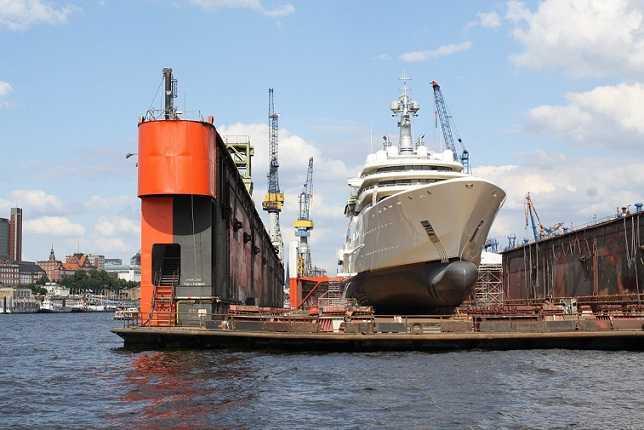 Ремонт кораблей и судов палуба