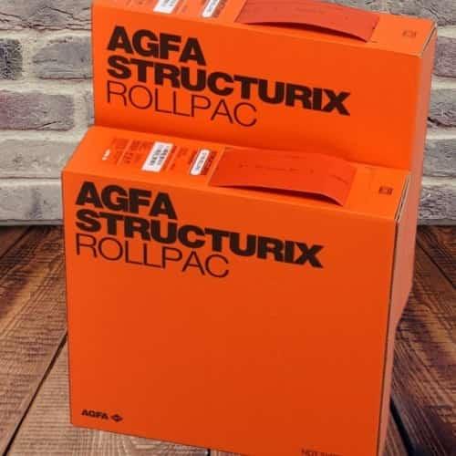 Agfa structurix d7 pb rollpac